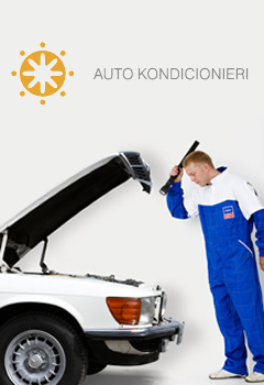 Autoklimats - kondicionieri, riepas
