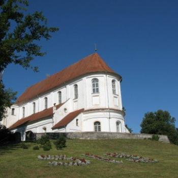 Skaistkalnes baznīca Bauskas rajonā